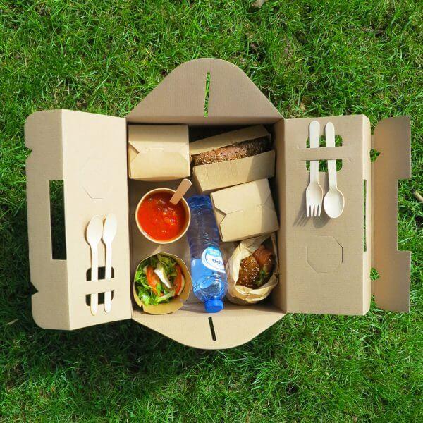 Take away picknick box