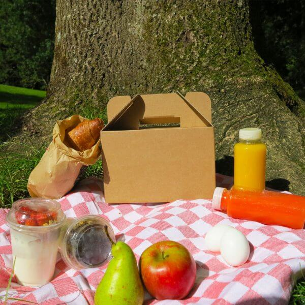 Frühstücksbox aus Karton