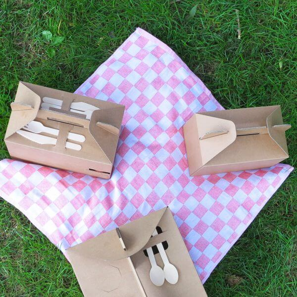 Picknickboxen Konzept