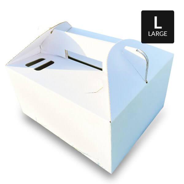 Picknickbox aus weißem Karton